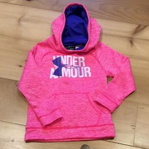 Under Armour cold gear hooded sweatshirt